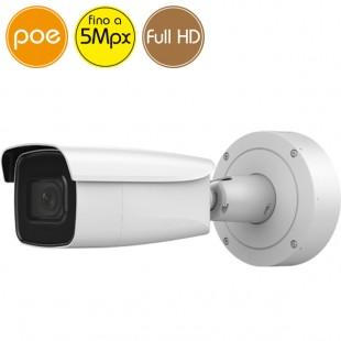 Camera IP SAFIRE PoE - 5 Megapixel - Motorized zoom 2.8-12mm - microSD - IR 50m