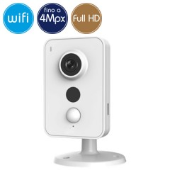 Telecamera wireless IP WiFi - 4 Megapixel / Full HD (1080p) - microSD - PIR reale