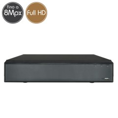 Videoregistratore IP NVR 8 - 8 Megapixel / Full HD - Ultra HD 4K