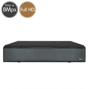 Videoregistratore IP NVR 8 - 8 Megapixel / Full HD - Ultra HD 4K