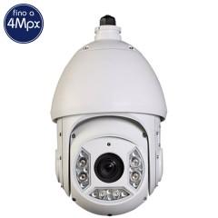 Telecamera IP PTZ - 4 Megapixel / Full HD (1080p) - Zoom 30X - IR 100m