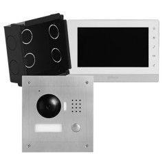 2 wires Video Intercoms Kit interlocking