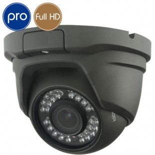 HD camera dome PRO - Full HD - 1080p SONY - Zoom motorized 2.8-12mm - IR 30m