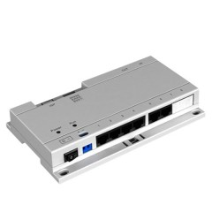 Specific PoE switch for intercomm