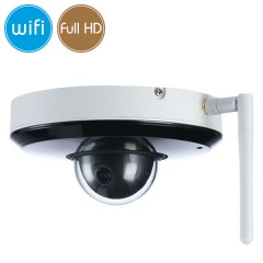 Telecamera wireless IP WiFi PTZ - Full HD (1080p) - SONY Ultra Low Light - microSD