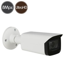 Telecamera HDCVI - 8 Megapixel Ultra HD 4K - Low Light - IR 80m