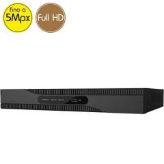 Videoregistratore HD ibrido SAFIRE - DVR 4 canali 5 Megapixel - ALLARMI HDMI