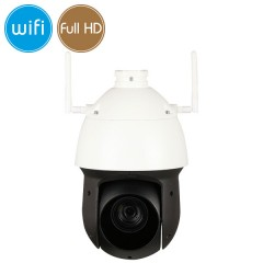 Dome camera wireless IP WiFi PTZ - Full HD (1080p) - SONY Ultra Low Light - Zoom 25X