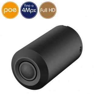 Mini camera IP PoE - 4 Megapixel / Full HD (1080p) - Low Light