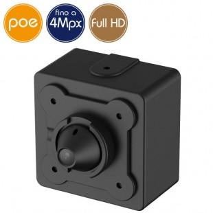 Mini telecamera IP PoE - 4 Megapixel / Full HD (1080p) - Low Light