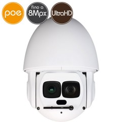 Camera IP PTZ - 8 Megapixel Ultra HD 4K - Zoom 30X - IR 500m