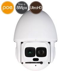 Telecamera IP PTZ - 8 Megapixel Ultra HD 4K - Zoom 30X - IR 500m