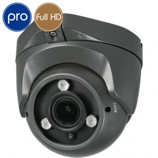 Telecamera HD dome PRO - Full HD - 1080p SONY - 2 Megapixel - Zoom 2.8-12mm - IR 40m