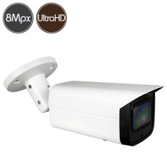 HDCVI camera - 8 Megapixel Ultra HD 4K - Motorized lens 3.7-11mm - IR 80m