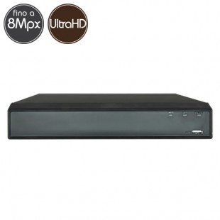 Hybrid HD Videorecorder - DVR 16 channels 8 Megapixel  Ultra HD 4K - RAID VGA HDMI