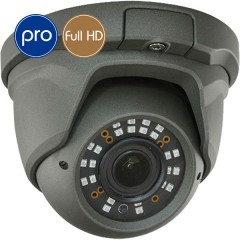 Telecamera HD dome PRO - Full HD - SONY Ultra Low Light - Zoom 2.8-12mm - IR 30m