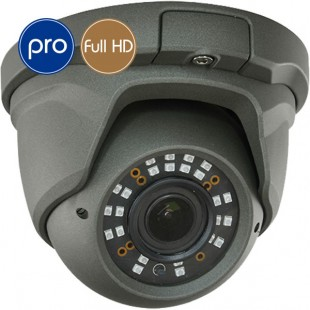 HD camera dome PRO - Full HD - SONY Ultra Low Light - Zoom 2.7-13.5mm - IR 30m