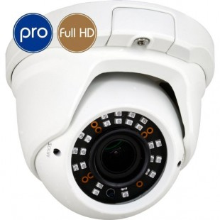Telecamera HD dome PRO - Full HD - SONY Ultra Low Light - Zoom 2.7-13.5mm - IR 30m