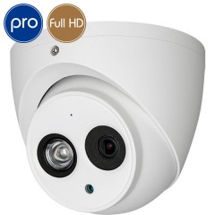 Dome HD camera - Full HD - 1080p - 2 Megapixel - Mic - IR 50m