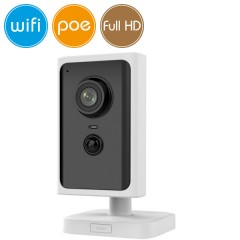 Telecamera wireless IP WiFi PoE - Full HD (1080p) - Microfono - PIR reale - IR 10m