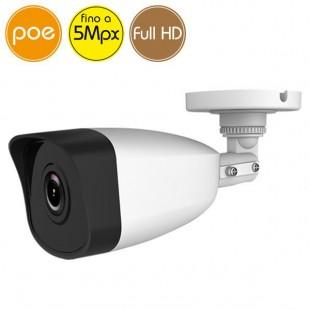 Telecamera IP SAFIRE PoE - 5 Megapixel / Full HD (1080p) - IR 30m