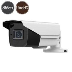 HDTVI camera SAFIRE - 8 Megapixel Ultra HD 4K - Motorized lens 2.8-12mm - IR 40m