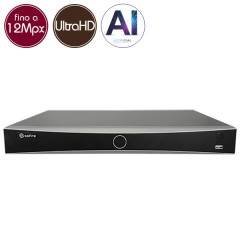 Videorecorder IP NVR SAFIRE 8 - 12 Megapixel - AI - Alarms RAID Ultra HD 4K