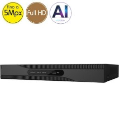 Videoregistratore HD ibrido SAFIRE - DVR 4 canali 5 Megapixel - Intelligenza Artificiale