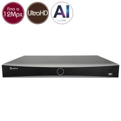 Videoregistratore IP NVR SAFIRE 16 - 12 Megapixel - Intelligenza Artificiale  - ALLARMI