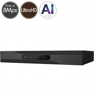 Hybrid HD Videorecorder SAFIRE - DVR 8 channels Ultra HD 4K - IA
