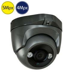 Telecamera HD dome - 5 e 4 Megapixel - IR 30m