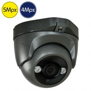 HD dome camera - 5 4 Megapixel - IR 30m
