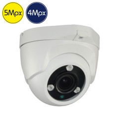 Telecamera HD dome - 4 Megapixel - Zoom 2.8-12mm - IR 30m