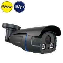 Telecamera HD ZOOM - 5 e 4 Megapixel - Ottica motorizzata 2.7-13.5mm - IR 60m