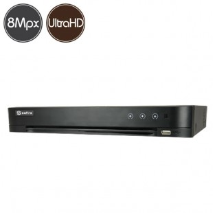 Videoregistratore HD ibrido SAFIRE - DVR 8 canali 8 Megapixel Ultra HD 4K - HDMI