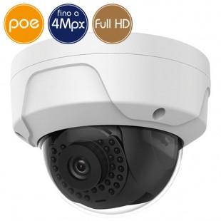 Telecamera dome IP SAFIRE PoE - 4 Megapixel / Full HD (1080p) - IR 30m