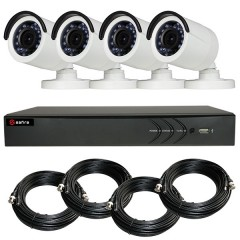 KIT videosurveillance HD 1080p - Full HD - DVR 4 channels - 4 cameras