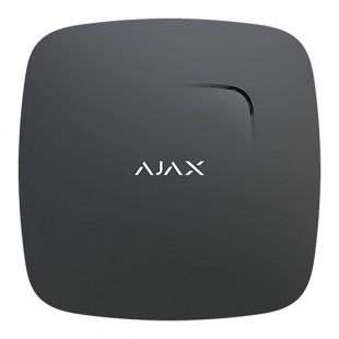 Wireless fire detector sensor Plus via radio wireless Ajax black