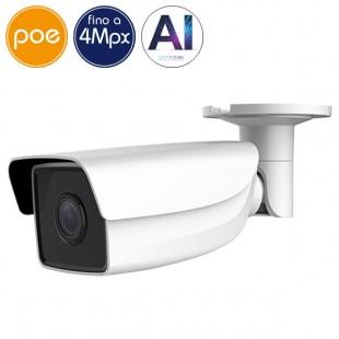 Camera IP SAFIRE PoE - 4 Megapixel - IA - IR 50m