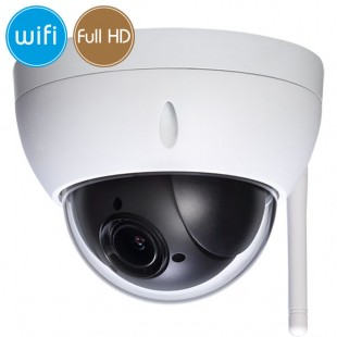Dome camera wireless IP WiFi PTZ - Full HD (1080p) - Zoom 4X