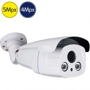 Telecamera HD - 5 e 4 Megapixel - Ultra Low Light - Varifocale 2.7-13.5mm - IR 60m