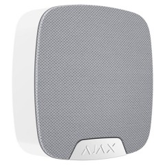 Wireless indoor siren via radio wireless Ajax white