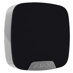 Wireless indoor siren via radio wireless Ajax black
