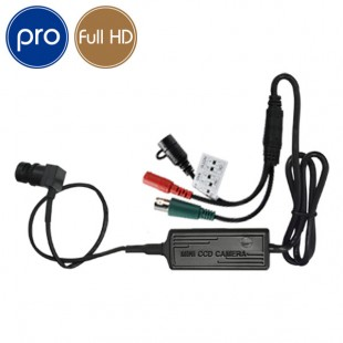 Microcamera HD PRO - Full HD - 1080p SONY - 2 Megapixel - Low Light - Grandangolo