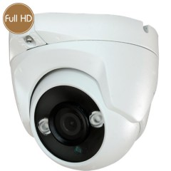Dome HD camera - Full HD - 1080p - 2 Megapixel - IR 30m