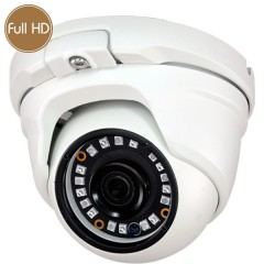 Telecamera dome HD - Full HD - 1080p - 2 Megapixel - IR 20m
