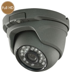 Dome HD camera - Full HD - 1080p - 2 Megapixel - IR 20m