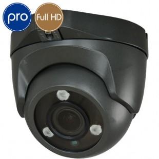 Telecamera HD dome PRO - Full HD - 1080p SONY - Ottica motorizzata 2.8-12mm - IR 40m