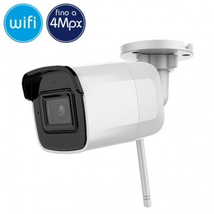 Camera wireless IP WiFi - 4 Megapixel - microSD - Mic - IR 30m