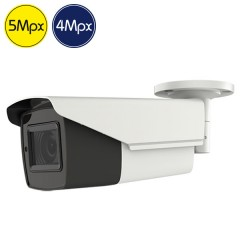 Telecamera HD SAFIRE - 5 e 4 Megapixel - Ultra Low Light - motorizzata 2.7-13.5mm - IR 80m